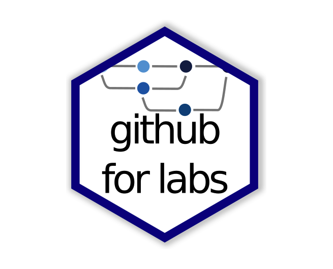 Git for labs hex logo