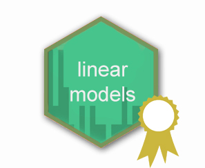 Linear models hex logo