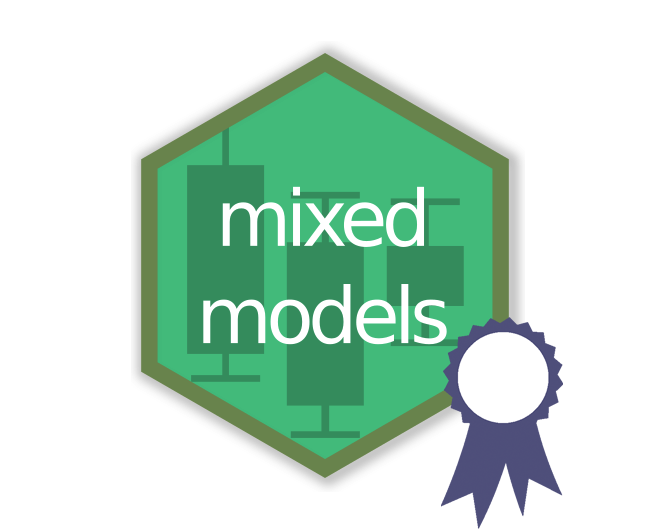 Mixed models hex logo