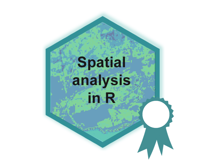 Raster analysis hex logo
