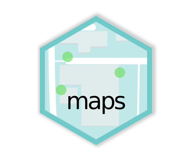 Basic maps hex logo