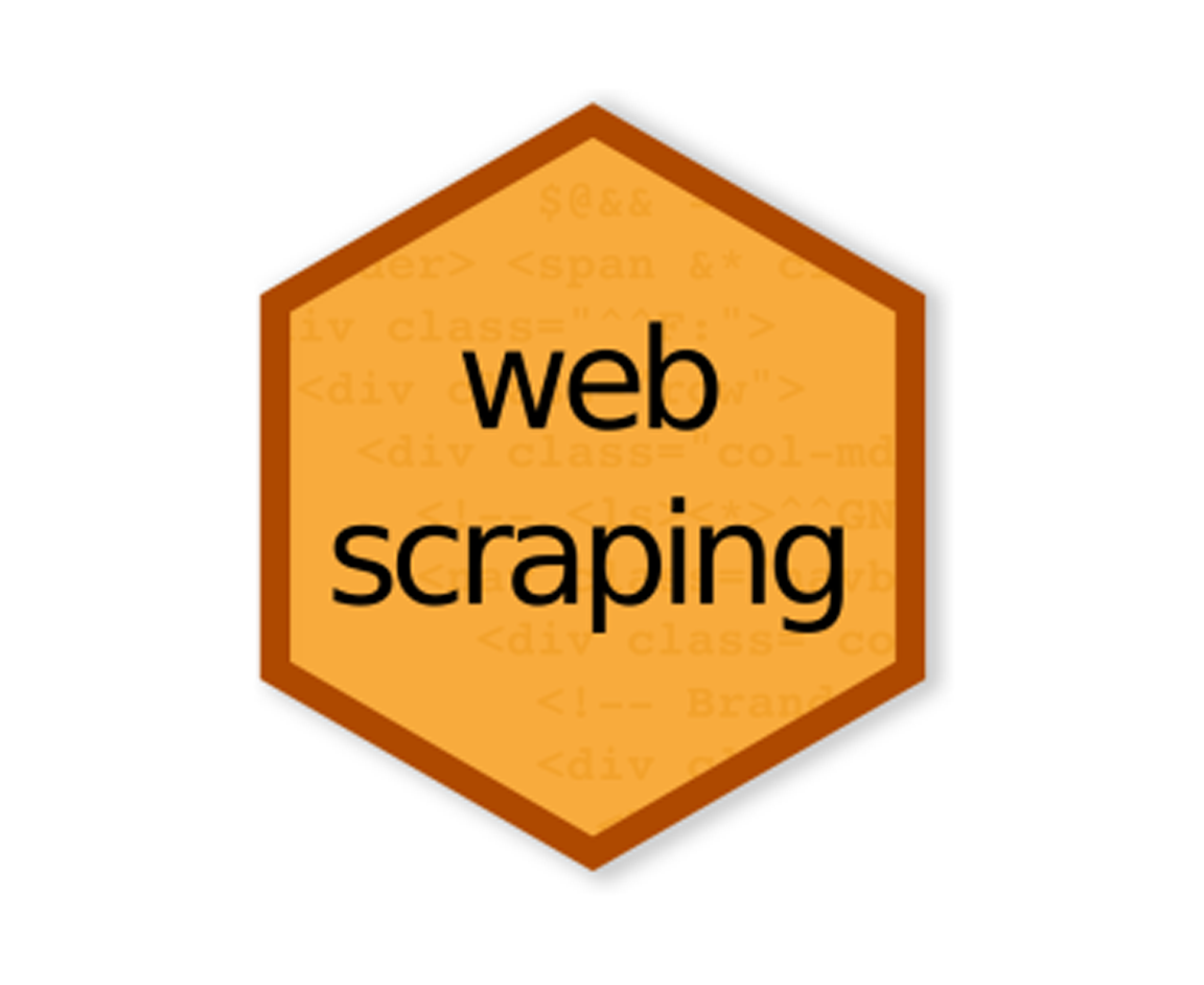 Webscraping hex logo