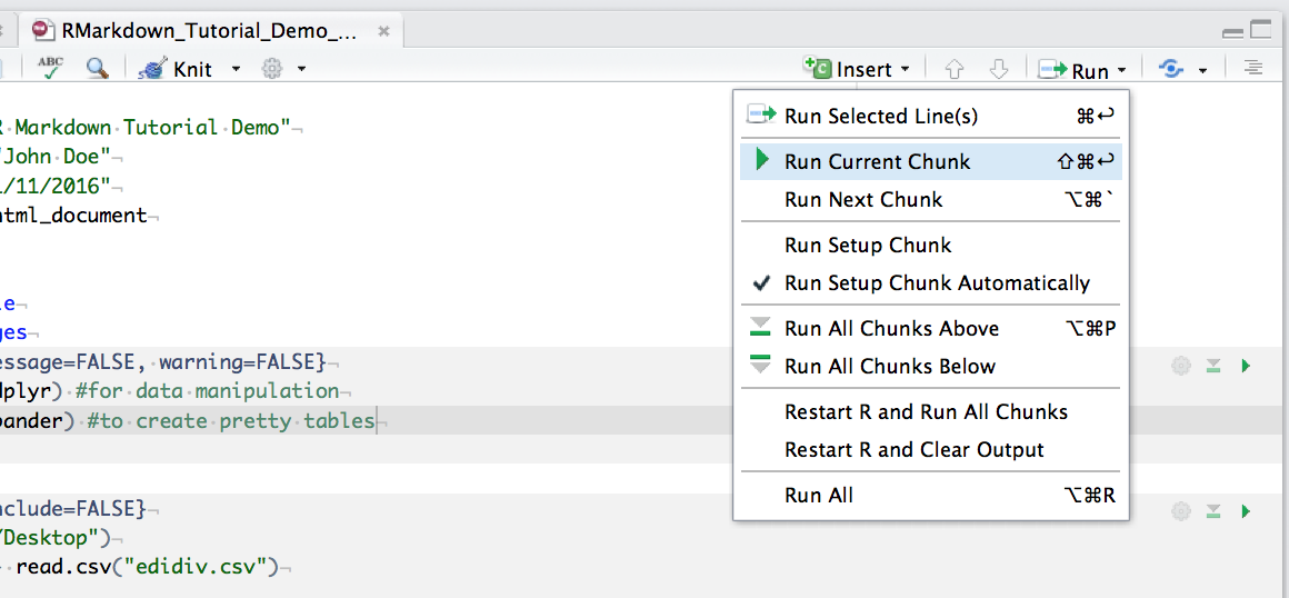RStudio run current chunk screenshot